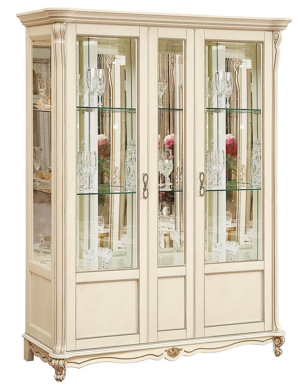 Шкаф с витриной «Алези 5» П350.05 купить в интернет-магазине ...